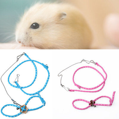 Hamster Harness Leading Pet-Supplies Leash Rope Adjustable Outdoor Rabbits Cats