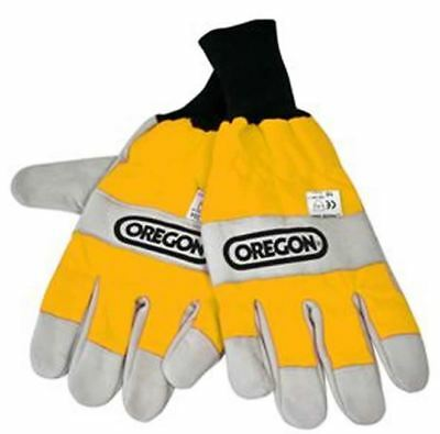 Oregon 295399 Both Hands Protection Chainsaw Gloves