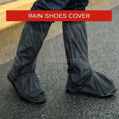 Reusable Rain Shoe Cover Waterproof Overshoes Slip Resist Rain Guard Covers K7M9