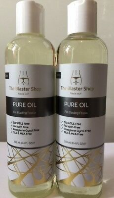 2 x Pure Oil for Blasting Fascia - For Use With Ashley Black's Fascia Blaster