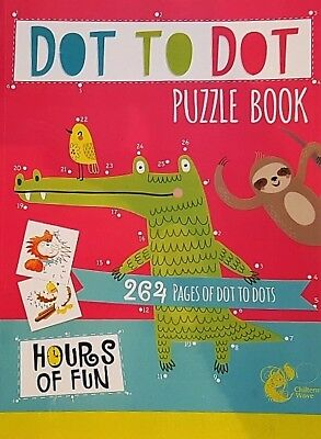 Giant 264 PAGES DOT TO DOT book,, 20cm x 27.5cm ,days of fun, children, GIANT