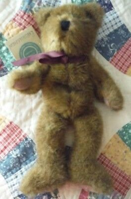"""Boyds Bear """"Bartholemew"""" with original tag Investment Collection"""