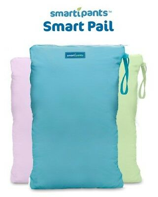 Smart Pail | Nappy Storage Bag | Hanging Wet Bag for Nappies & wet clothing