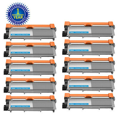 10x TN660 TN630 Toner Cartridge for Brother HL-L2300D L2320D L2340DW DCP-L2520DW