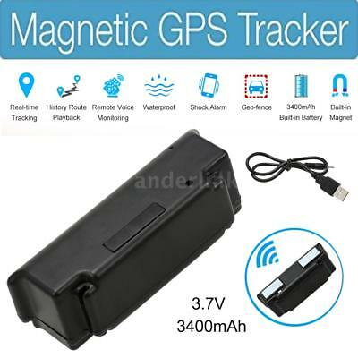 Real Time GSM GPS GPRS Car Vehicle Powerful Magnet Tracking Tracker Device US