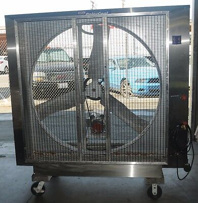 "Polar Cool 48SS 48"" Evaporative Industrial Cooling Fan Swamp Cooler 230V 1PH"