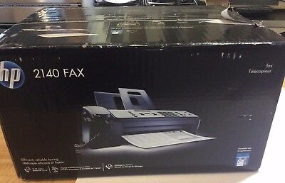 OPEN BOX HP 2140 Professional Quality Plain Paper Fax Machine Copy Phone Copier