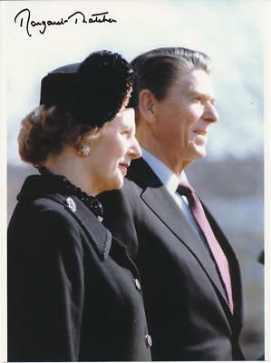 Prime Minister Margaret Thatcher- Color Glossy Signed Photograph