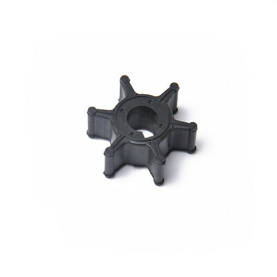Water Pump Impeller 6L5-44352-00-00 for Yamaha 3HP 2.5HP Outboard Motor Black