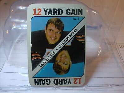 1971 Topps Game Inserts Football Card Singles  (YOU PICK CARDS)