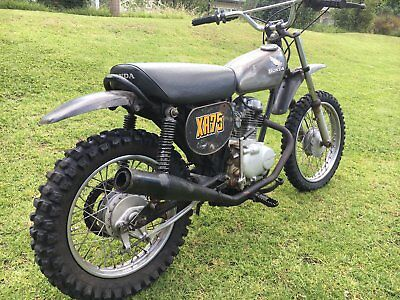 Honda XR75 K1 1974 Unrestored Original