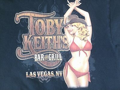 Toby Keith's Bar And Grill She's A Hottie Las Vegas Nevada T Shirt L I Love This