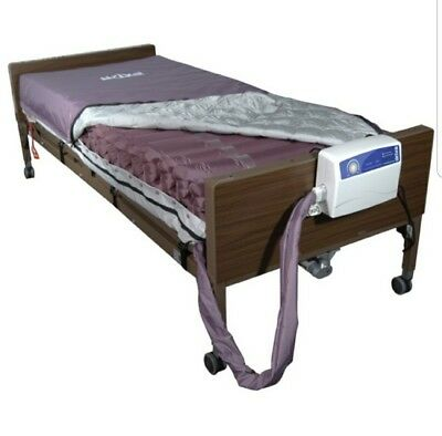 Invacare full electric, hospital bed with Drive Med Air mattress