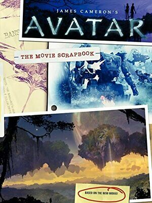 James Cameron's Avatar: The Movie Scrapbook by Mathison, Dirk Paperback Book The