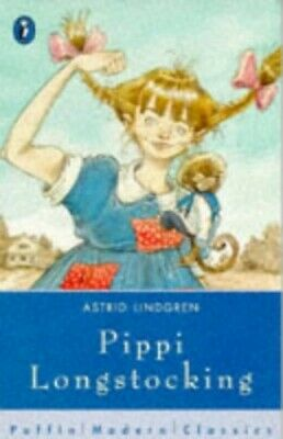 Pippi Longstocking (Puffin Modern Classics) by Riddell, Chris Paperback Book The