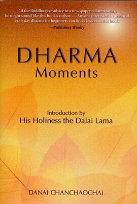 Dharma Moments by Chanchaochai, Danai Paperback Book The Cheap Fast Free Post