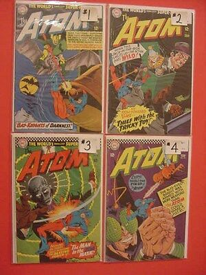 The Atom, Flash Gordon,  Fly, Frogmen, Owl, Nukla, The Phantom Comic, See Info