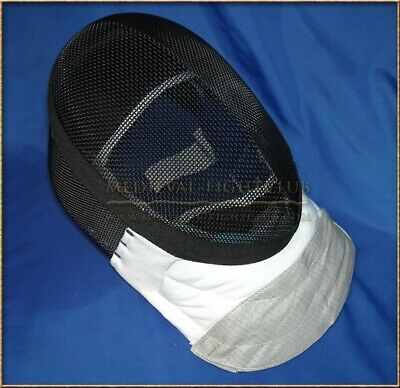Fencing Foil - Epee Mask Conductive bib and removable lining 350 newtons Size XL