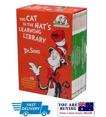 Cat in the Hat Learning Library By Dr Seuss - 20 Brilliant Books - RRP$199