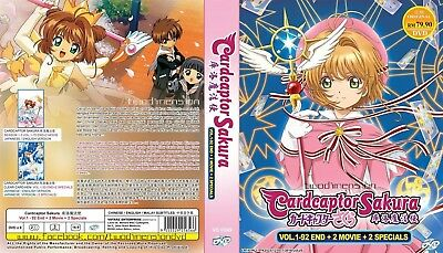 ANIME DVD~ENGLISH DUBBED~Cardcaptor Sakura+Clear Card-Hen(1-92End)FREE SHIP+GIFT
