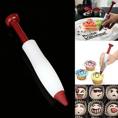 Pen Set Pastry Icing Piping Bag Nozzle Tips Fondant Cake Sugar Craft Decors Pro