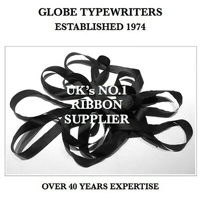 1 x 'IMPERIAL PORTABLE 3' *BLACK* TOP QUALITY *10 METRE* TYPEWRITER RIBBON