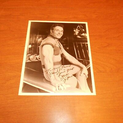 Jack LaLanne was an American fitness, exercise, and nutrition Hand Signed Photo