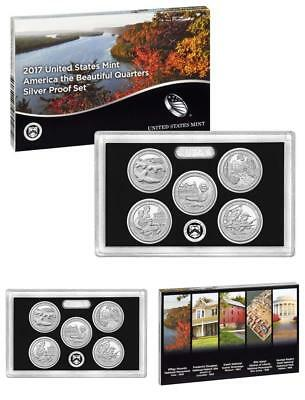2017 US United States Mint America Silver Proof Set ORIGINAL