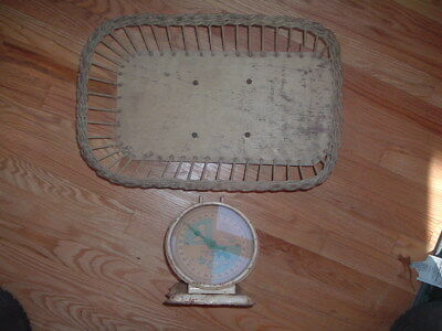 Vintage Baby Scale Weighs 30 pounds by ounces