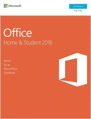 NEW Microsoft 79G-04751 Office Home & Student 2016