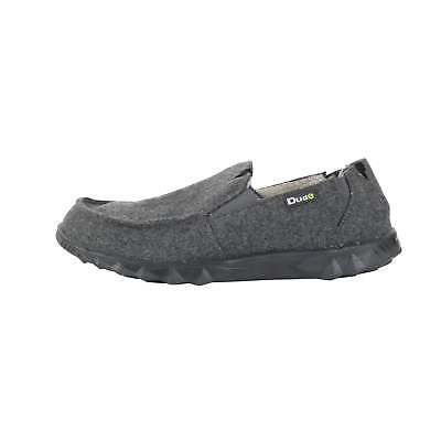 Hey Dude Shoes Mens Fur Lined Farty Chalet Felt Grey