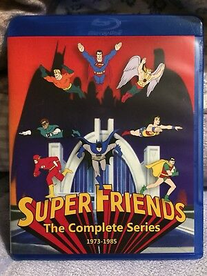 Super Friends - The Complete Series (Seasons 1-9) On Blu-ray  (dvd)