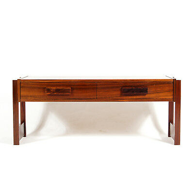 Retro Vintage Danish Design Rosewood TV Stand Cabinet Chest of Drawers 60s 70s