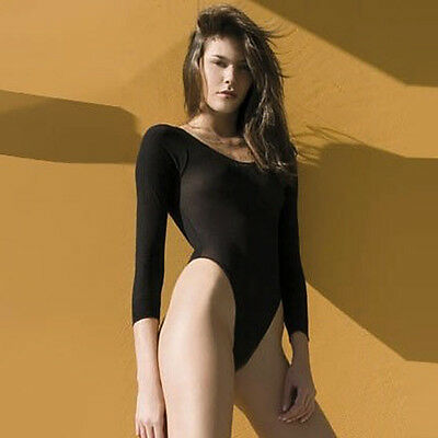One Size Regular Long Sleeve Opaque Teddy Lingerie ML8177