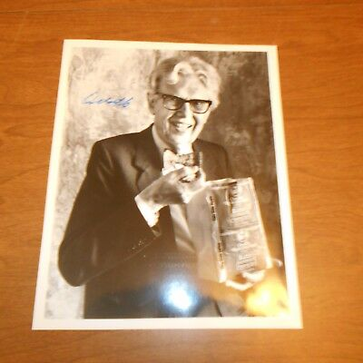 Orville Redenbacher   was an American businessman  Hand Signed Photo