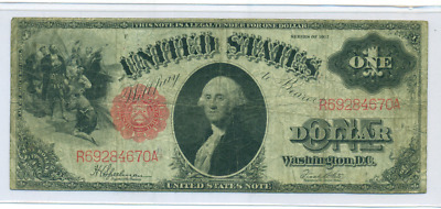 1917 Large Size $1 Legal Tender Note