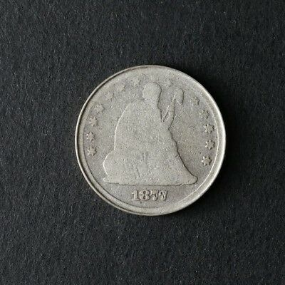 1877-S Seated Liberty Quarter Great Deals From The TECC Bargain Bin