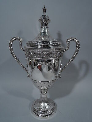 George V Trophy Cup - Antique Neoclassical - English Sterling Silver - 1912