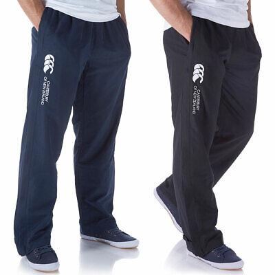 Canterbury Mens Open Hem Stadium Pant Heat Management Zip Pockets