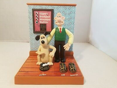 Wallace And Gromit Talking Alarm Clock By Wesco 1995