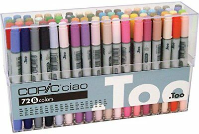 TOO Copic Ciao 72 color B Set Premium Artist Markers Anime Comic made Japan F/S