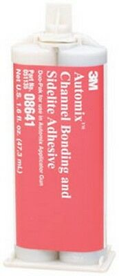 Automix Channel Bonding and Sidelite Adhesive 08641, 2 oz 3M-8641 Brand New!
