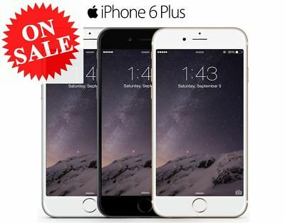 New & Sealed Factory Unlocked APPLE iPhone 6 Plus + 16 64 128GB Grey Gold Silver