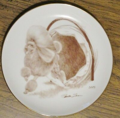2005 Laurelwood Poodle Plate - Limited Edition of 150 - Now Retired