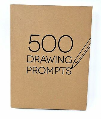 Piccadilly 500 Drawing Prompts ~ Brand NEW - Sketchbook ~ Art Inspiration Aid