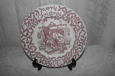 Crownford China Co. by Norma Sherman, Staffordshire - Merry Christmas 1975