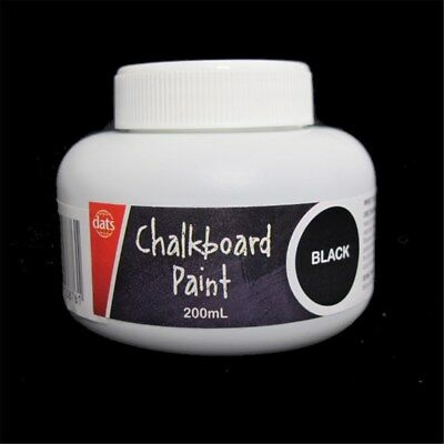 200ml black chalkboard paint