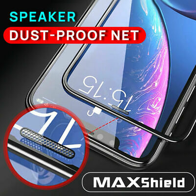 MAXSHILD 5D Full Coverage Glass Screen Protector For Apple iPhone X 8/7 7/8 Plus
