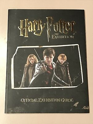 HARRY POTTER THE EXHIBITION Official Exhibition Guide Book from Sydney 2011 Tour