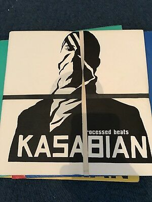 """Kasabian Processed Beats 10""""Promo With Flag"""